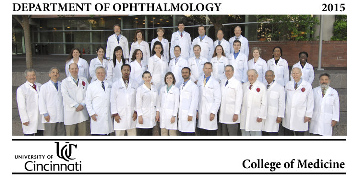 2015 Ophthalmology Group Photo
